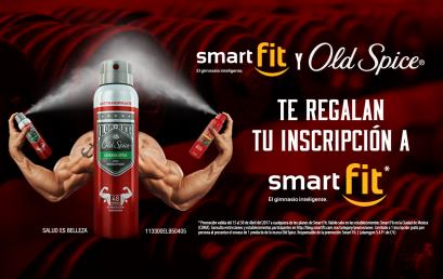 SmartFit y Old Spice te regalan una inscripción a SmartFit