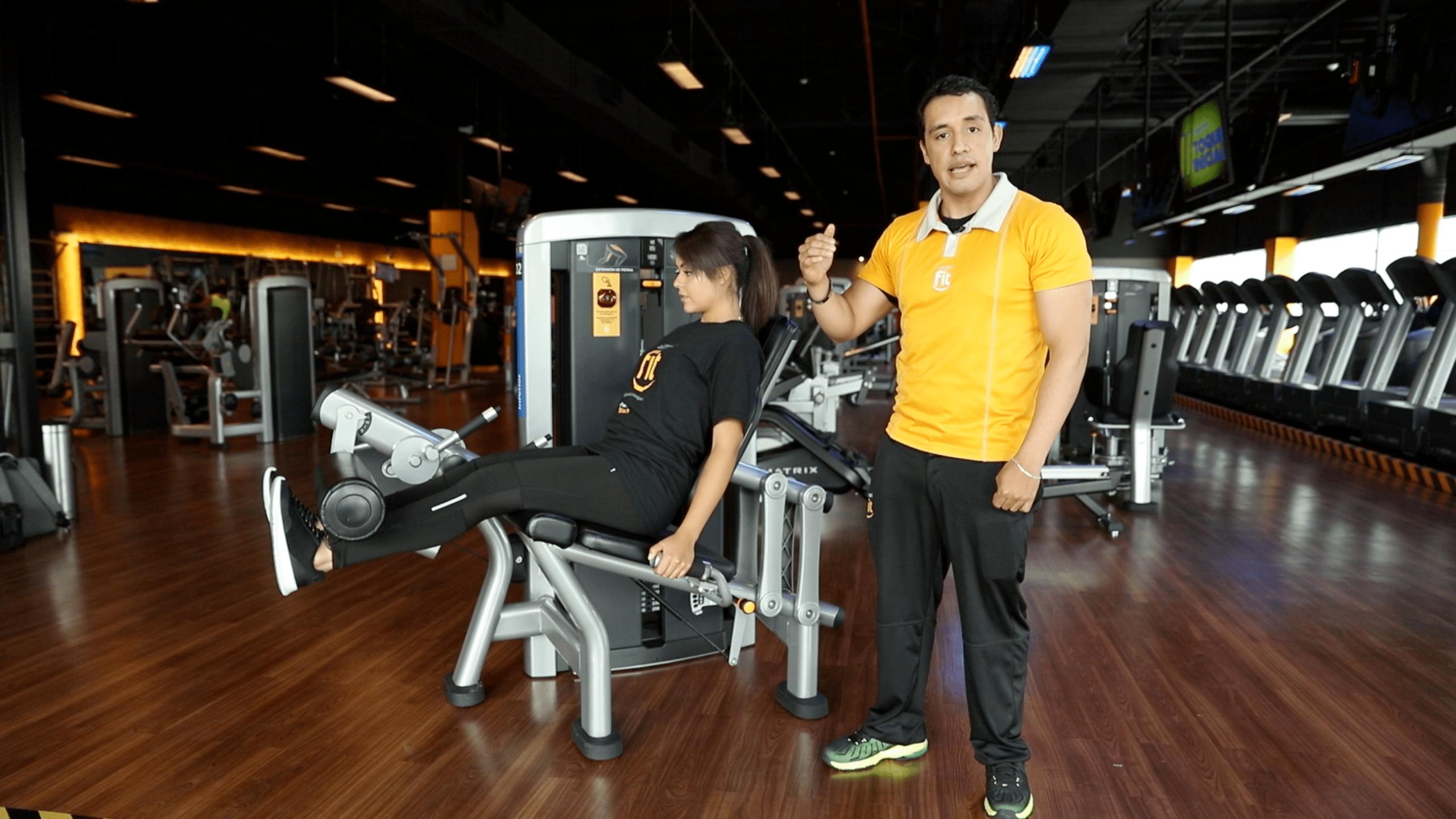 Extensión de cuádriceps, una manera de aumentar el músculo