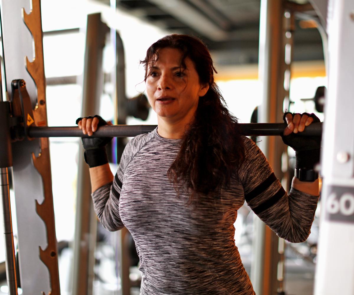3 ejercicios que puedes hacer en la Máquina Smith