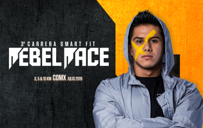 Rebel Race llega a su 3a edición. ¡Vive la carrera Smart Fit 2019!