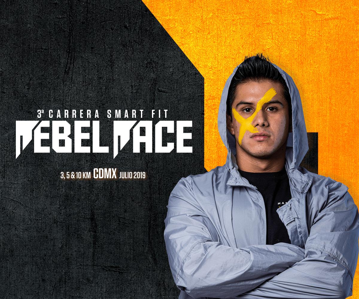 Rebel Race llega a su 3a edición. ¡Vive la carrera Smart Fit 2019!