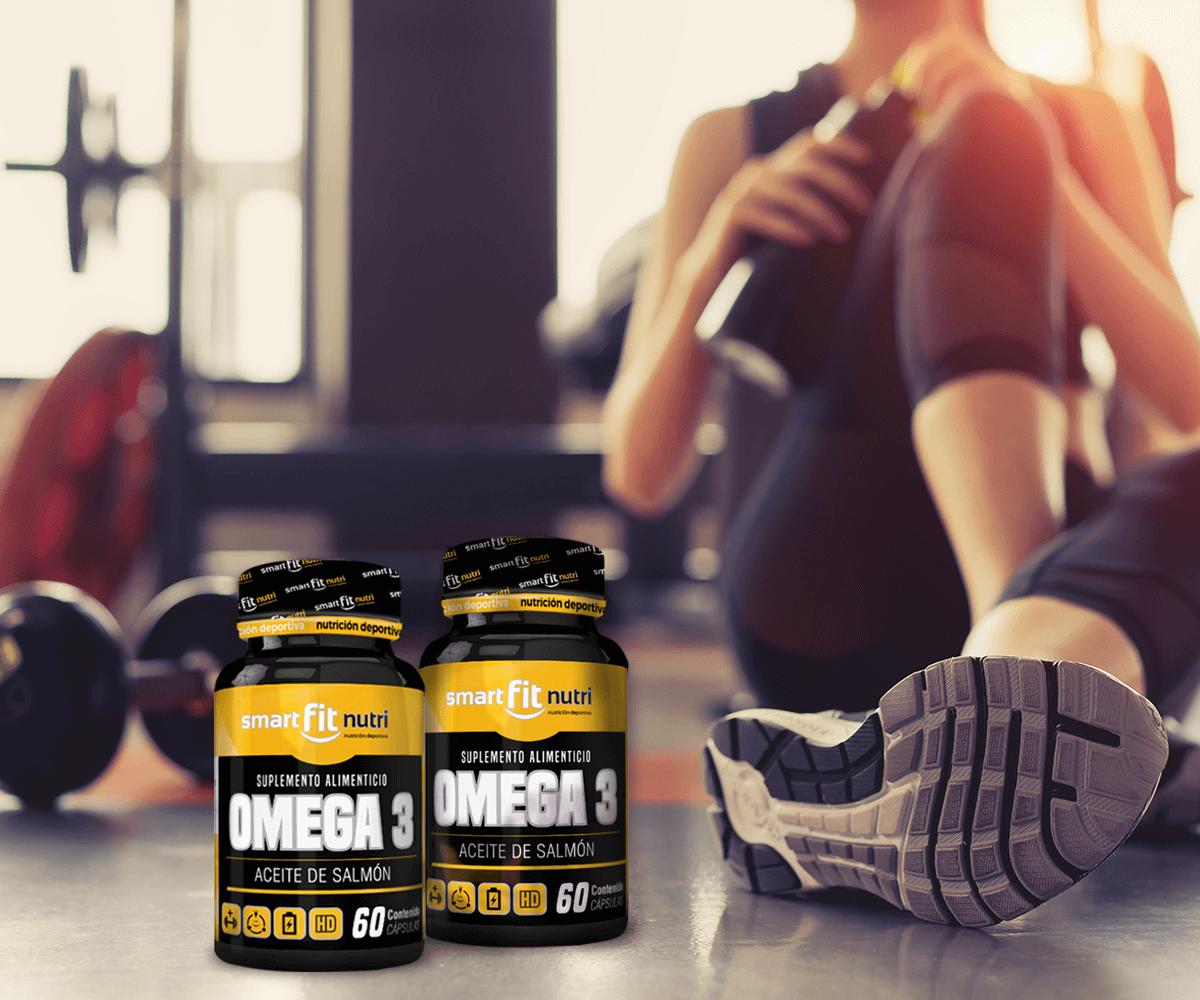 Cómo influye el omega 3 en la masa muscular
