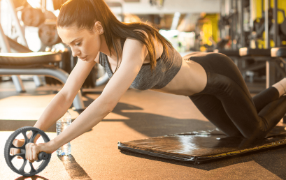 Rueda abdominal: la mejor aliada en tu rutina de abdomen en el gym