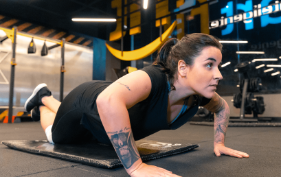 Las flexiones: beneficios para el core, pecho, brazos y más