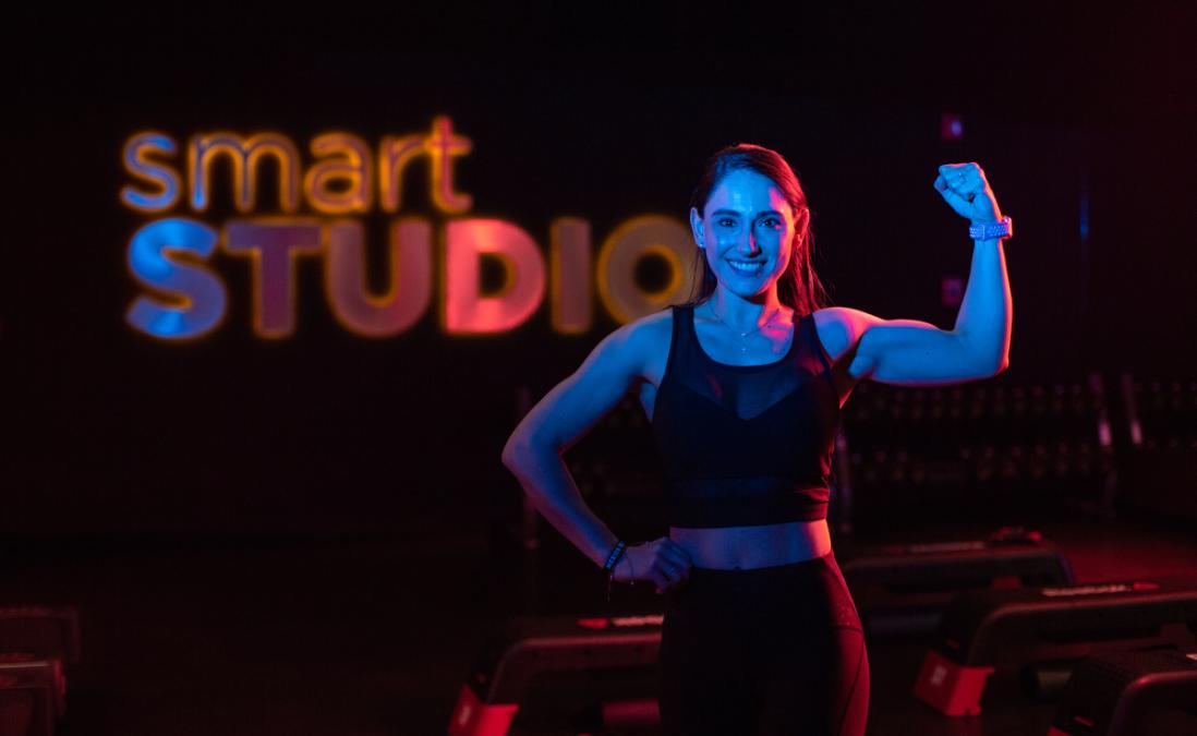 Smart Fit Roma Norte se prepara para las clases de Studio