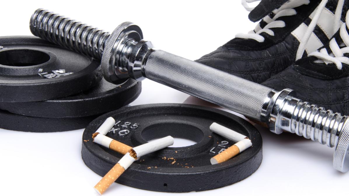 Efectos del tabaco en el crecimiento y definición muscular
